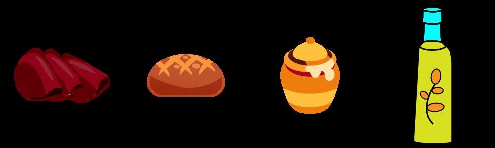 Bresaola di chianina con crostini al fondente di pecorini e Miele della Lunigiana Dop